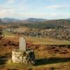 Strathpeffer from the ridge to Knockfarrel