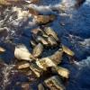 Boulders in the Black Water