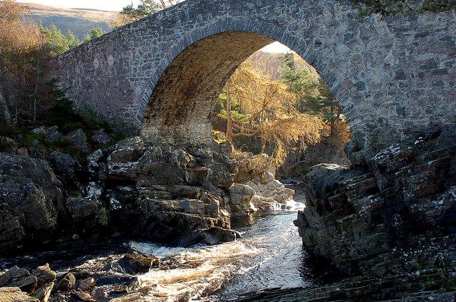 The old bridge at Little Garve