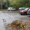 The carpark at Newbold Comyn Park