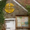 Historic AA road sign for Cromhall village