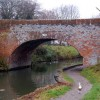 Looking west at bridge 36, Grand Union Canal