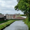 Caldon Canal and College, Hanley, Staffordshire