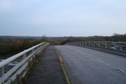 Bridge across M25, Clacket Lane