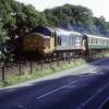 Rail alongside the road