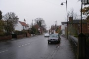 Farnsfield in the rain