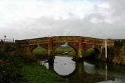 Eastern elevation of Bodiam Bridge