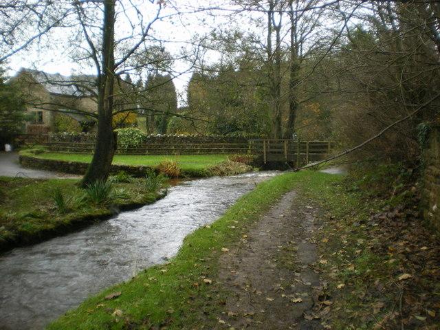 Cowley Brook at White Carr Farm