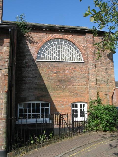 Fanlight Window, Church Yard, Tring