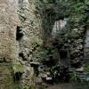 Kilmahew Castle - interior, NW corner