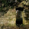 Kilmahew Castle - short passage beneath staircase