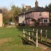 Footbridge at Beyton Green