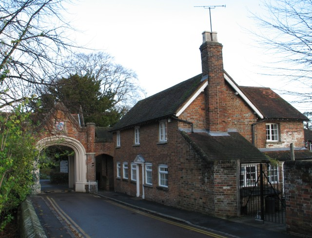 Archway and House, Church Yard, Tring