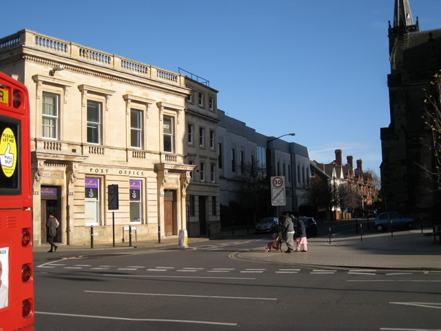 Post Office, Priory Terrace, Leamington