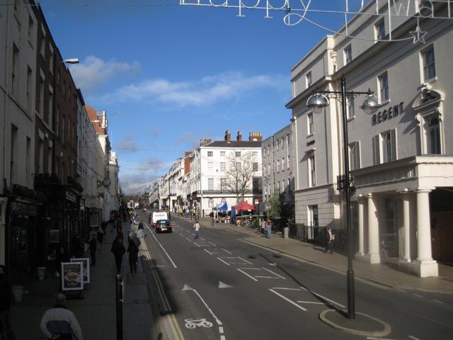 The Parade below Regent Street, Leamington