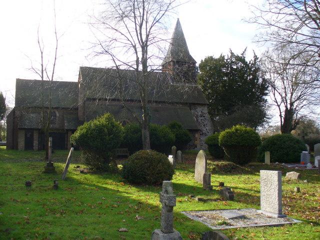 Church and Churchyard, Bisley
