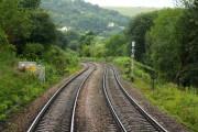 The railway crosses Orchard Lane