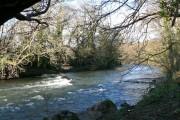 The Ogmore River, Pen-y-cae - Bridgend