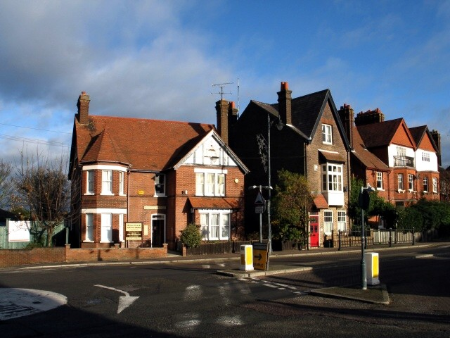 Junction of Christchurch Road and Upper High Street, Tring