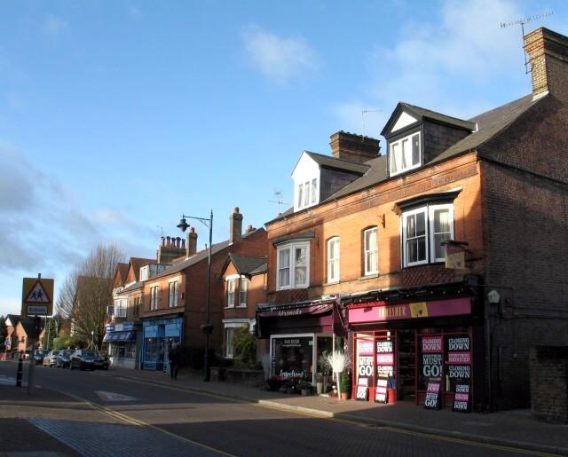 Shops, Upper High Street, Tring