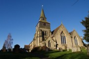 Godstone Church in Church Town