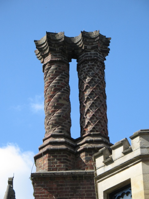 Ornate Chimney Stacks, the Old Vicarage, Tring