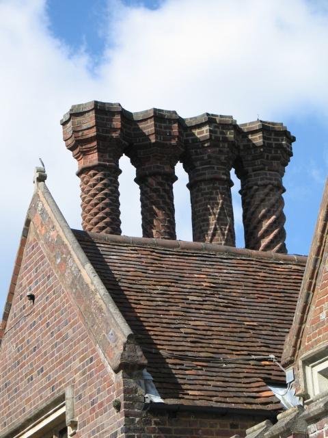 Ornate Chimney Stacks, the Old Vicarage, Tring