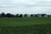 Farmland near Garmelow