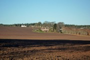 Ploughed field below Balnakyle Farm