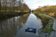 Sofa in the canal
