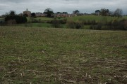 Farmland near Collett's Green