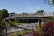 Footbridge in Wallington
