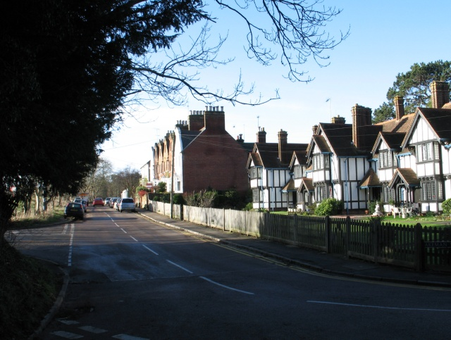 The Junction of Park Road, Hastoe Lane and Akeman Street, Tring
