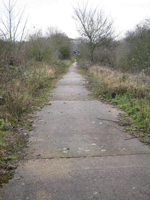 Footpath near Gilmorton Road Bridge, Lutterworth