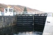 Caledonian canal at Laggan locks