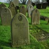 Gravestones in St Bartholomew's churchyard, Churchdown