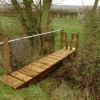 Footbridge near Brockworth