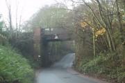 Railway bridge over Old Rydon Lane