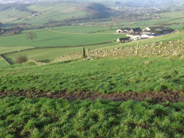 Towards Gorse Bank Farm