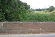 North of Aldford Bridge - August 2009