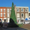 Christmas tree in Gosport High Street