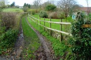 Public Footpath to Myrtle Farm