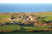 Looking down on Zennor from Trewey Hill