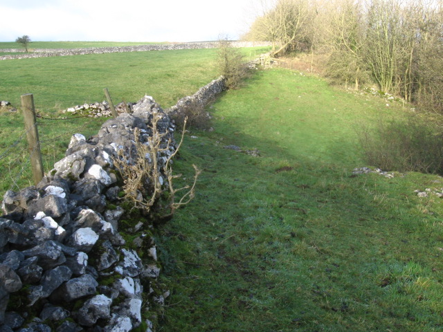 Footpath From Cressbrook towards Litton