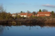 Clayworth village from the canal