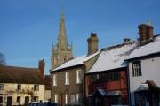 Village scene, Woolpit