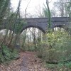 Bridge over disused Cardiff Railway