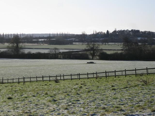 Fields south of Radford Barn