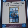 Sign for the Crown Inn
