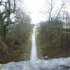 Tissington Trail, from a bridge